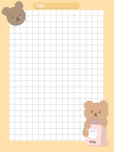 Stickers Kawaii, Cute Stickers, Printable Scrapbook Paper, Printable Paper, Printable Stickers, Memo Notepad, Cute Notes, Cute Patterns Wallpaper, Bullet Journal Ideas Pages