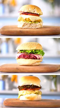 How to Make Best Burger - Delicious Burger - easy tasty hamburger recipes - burger ideas - vegan burger for diet - wet loss burger - low carb burger Vegetarian Types, Vegetarian Recipes, Cooking Recipes, Healthy Recipes, Vegetarian Appetizers, Cooking Tips, Cucumber Recipes, Veggie Recipes, Hamburger Recipes