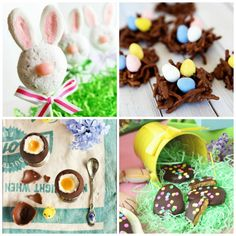 25 No Bake Easter Treats Kids Can Make| Spoonful Fun for spring break