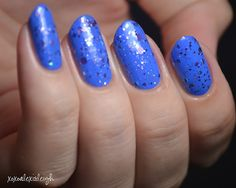 Different Dimension That Is So Fetch over Sally Hansen Pacific Blue