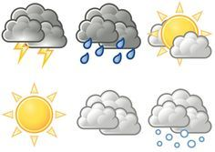 Weather Symbols For Kids Printables                                                                                                                                                                                 More