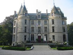 Chateau L'Isle Marie. 17th Norman manor, was restored and is run by Dutch born interior designer, Dorothea de La Houssaye and her cousin, British born Simon Rock de Besombes, the descendants of the original D'Aigneaux and Aux Epaules families who have been on this property since the 11th century when there was a Viking fort on the grounds.