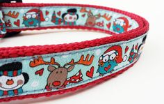 Holiday Helpers  Dog Collar / Pet Accessories by StinkyandSweetPea, $16.00