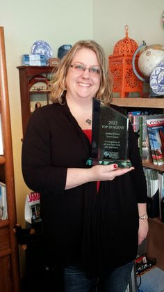 Amber Pietan, top 20 Travel Agents for 2013! Great Job, Amber!