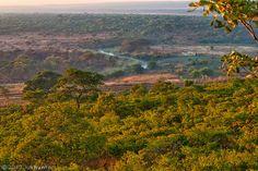 Looking down at the river from a small hill top near Menongue, Cuando Cumabgo,Angola   Flickr - Photo Sharing!