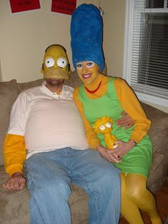 Such a good costume idea for Bryan and I next year lol! | holidays | Pinterest | Homer simpson Halloween images and Halloween pictures  sc 1 st  Pinterest & Such a good costume idea for Bryan and I next year lol! | holidays ...