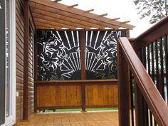 Decoration, Garage Doors, Outdoor Decor, Recherche Google, Home Decor, Courtyards, New Homes, Terraces, Carpentry