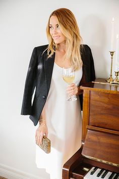 Lauren Conrad's favorite slip dress, three ways