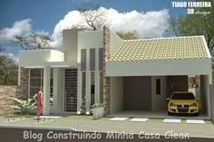 Fachadas de Casas Simples, Pequenas, mas muito Modernas!
