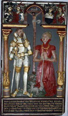 Jesper Friis f. 1539 d. 1561 og Maren Friis f. 1545 d. 1561 var børn af Henrik Friis og Margrethe Bild. 1560-69 Fyens stift