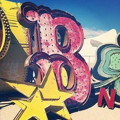 the neon boneyard-las vegas sign components