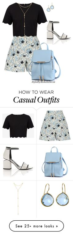 """""""Casual Chic"""" by michelledevon on Polyvore featuring Bottega Veneta, Ted Baker, Alexander Wang and Fragments"""