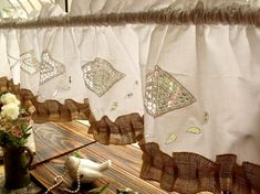 70 Shabby Chic French Country Rustic Burlap by BetterhomeLiving, $29.99