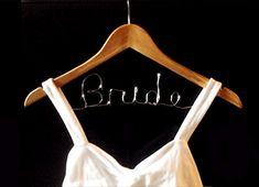 DIY Bride Wedding Hanger - BridalPartyTees