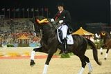 Famous Danish dressage horse: Blue Hors don Schufro. Rider Andreas Helstrand.