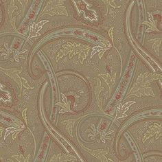 Traditional English Paisley