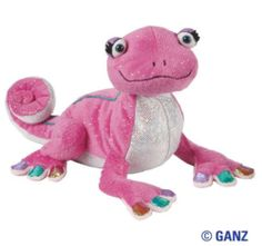 WEBKINZ GLAMOUR GECKO New with Tag  In Stock Super Pretty!