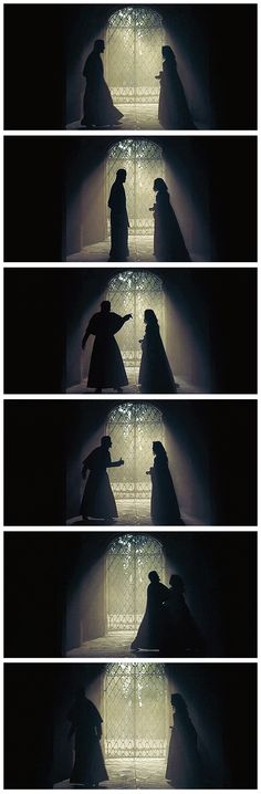 Richelieu and Milady: Silhouette Shots (1x10)