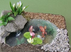 Miniature Water Features From Sheet Plastic