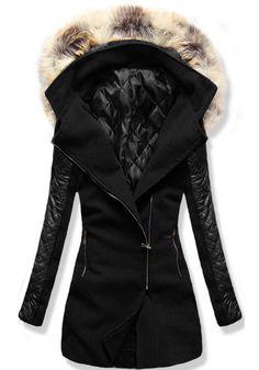 Kabát 6710 černý