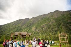The Inn at Tern Lake - This Stunning Wedding Venue is located on the Kenai Peninsula in Alaska – 90 miles south of Anchorage - http://innatternlake.com/weddings/ - #wedding #venue #weddingvenue