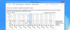 Reliability Monitor is the Best Windows Troubleshooting Tool You Aren't Using - When it comes to hidden gems in Windows, nothing beats the Reliability monitor tool, hidden behind a link inside of another tool that you don't use either. Why Microsoft doesn't shine more light on this really useful troubleshooting tool, we'll never know.   HTG