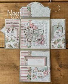 Scrapbook Box, Junk Journal, Origami, Envelope, Handmade, Layouts, Design, Drop, Pockets