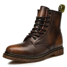 Men Boots Page 2 - sheheonline Doc Boots, Combat Boots, Mens Ankle Boots, Fall Shoes, Platform Boots, Waterproof Boots, Fashion Boots, Leather Shoes
