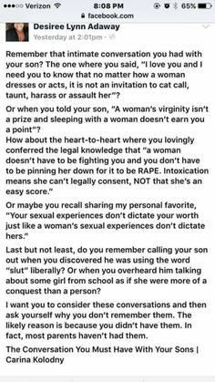 Feminism and rape culture. Parenting Done Right, Kids And Parenting, Parenting Hacks, Parenting Websites, Parenting Classes, Parenting Styles, Parenting Quotes, Future Mom, Faith In Humanity