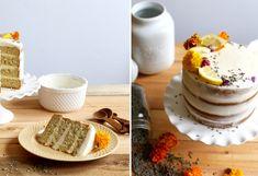 Lavender Cake with Lemon Buttercream