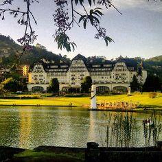 Palácio Quitandinha, em Petrópolis (RJ)