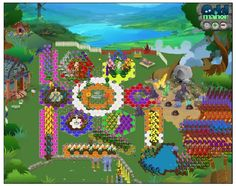 "Tracy's garden near the greenhouse.  // ""Odd Manor"" live beta, player image."