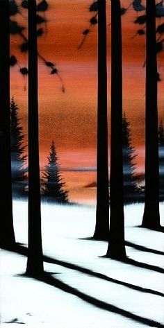 Nature's Color by Hamilton Agular | Painting trees | Pinterest | Nature, Colors and Winter