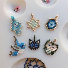 Kolye,bileklik,küpe ,halhal istediginiz her zincirinize ekleyebileceginiz minik miyuki uçlarımız #twins #twinsart #miyuki #bird #kuş #cat #kedi#stars #yıldız #fatmaanaeli #hamsa#baykuş #owl #handmade #jewellery #likeforlike #specialgift #ankara #istanbul #especiallyforyou #thankyou