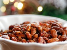 Sweet Spicy Smokey Roasted Almonds recipe from Ree Drummond via Food Network