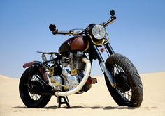 1994 Royal Enfield 500 Bullet 'Hind Ki Rani' - Marco Moeller - The Bike Shed