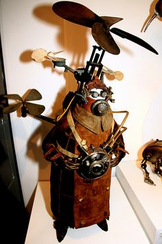 Steampunk Aviator by Stephane Halleux | Flickr - Photo Sharing!