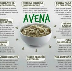 Beneficios de la avena #nutrition #healthy