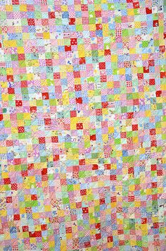 postage stamp quilt by ellis and higgs Postage Stamp Quilt, Postage Stamps, Sewing Alterations, Quilting Designs, Quilt Blocks, Quilt Patterns, Crafty, Quilts, Fabric