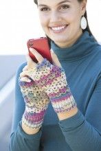 Adorable lacy texting mitts!