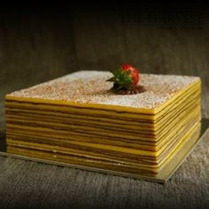 """All-natural gluten free thousand layer cake (also called """"Lapis Legit"""")."""
