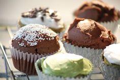 Vegan/Gluten Free/Sugar Free, Chocolate Cupcakes