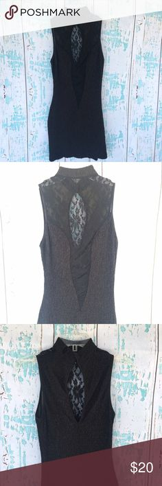 Shirley vintage black fitted lace plunge dress Shirley vintage black fitted lace plunge dress. Size large but would best fit a small/medium. Shirley Dresses Mini