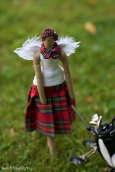 Angel Doll Limited Edition Golf Skirt Sandals by RoyalHandicrafts