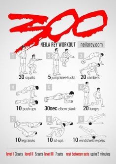 300 Workout | Posted By: CustomWeightLossProgram.com