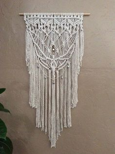 Macrame Magnificence, Giant Macrame Wall Hanging, Boho, Macrame, Backyard Artwork, Residence Decor, Wall Tapestry, 70s, Wall Decor, Hippie, Gypsy, Wall Artwork. >> Discover more by visiting the picture