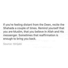 la ilaha illa'llah (there is no god but God) Muhammadun rasul Allah (Muhammad is the messenger of God) Repeat often! #Alhumdulillah #For #Islam #Muslim #Dua #Dhikr #Quran