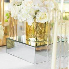 Vase Centerpieces, Wedding Centerpieces, Champagne Wedding Cakes, Wholesale Vases, Wedding Supplies, Flower Arrangements, Glass Vase, Table Decorations, Mirror