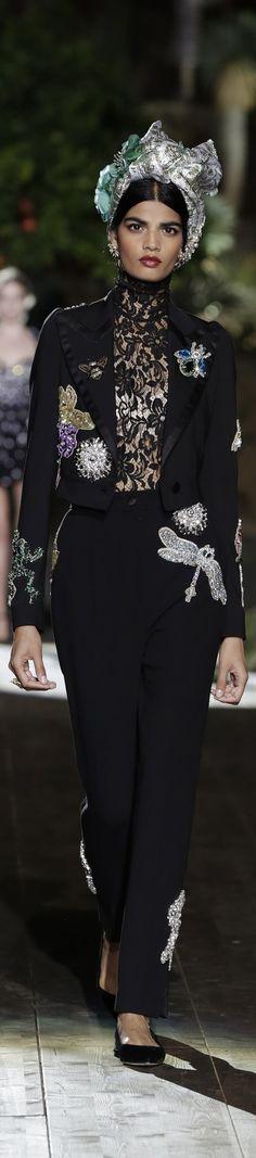 Dolce Gabbana Alta Moda Portofino Couture 2015