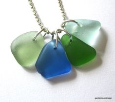 sea glass is nature's way of telling us that everything doesn't turn out badly.